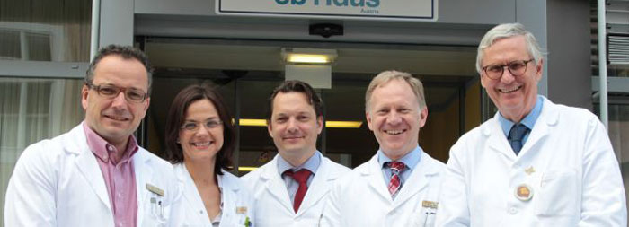 Prof. Johann Bauer, Priv.-Doz. Esther Maier, Dr. Florian Lager, Prof. Wolfgang Sperl, Prof. Helmut Hintner