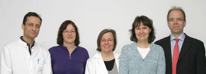 Prof. Matthias Schmuth, Prof. Daniela Karall, PD Dr. Sabine Scholl-Bürgi, Dr. Christine Fauth, Prof. Johannes Zschocke